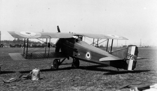 SPAD VII / Źródło: By SDASM [Public domain], via Wikimedia Commons