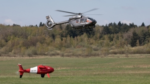 Airbus Helicopters i Schiebel z sukcesem testują Manned Unmanned Teaming.