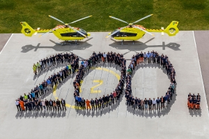 200-tny śmigłowiec Airbus Helicopters H145 poleciał do Norsk Luftambulanse.
