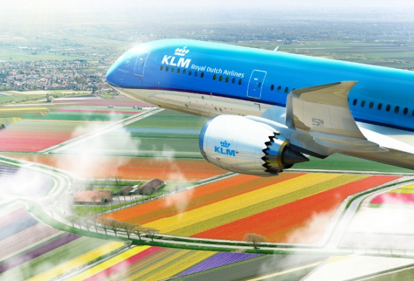 B787 KLM (Źródło: KLM press kit)