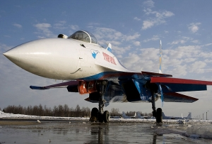 Zdjęcie poglądowe , Źródło zdjęcia: By English: Aleksandr Markin Русский: Александр Маркин (Su-35) [CC BY-SA 2.0 (https://creativecommons.org/licenses/by-sa/2.0)], via Wikimedia Commons
