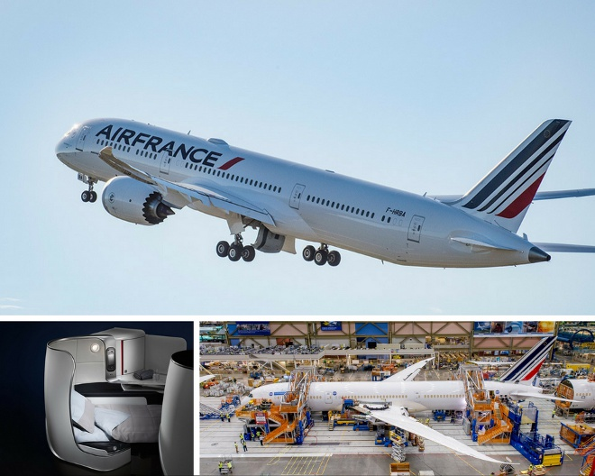 air france dreamliner B787