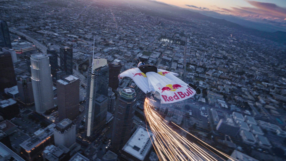 los angeles base jump