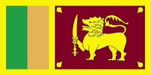 Źródło: By Zscout370 (SLS 693 - National flag of Sri Lanka) [Public domain], via Wikimedia Commons