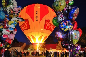III International Balloon Festival na Dolnym Śląsku.