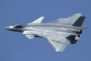 Chengdu J-20 na Air Show China w 2016 roku.