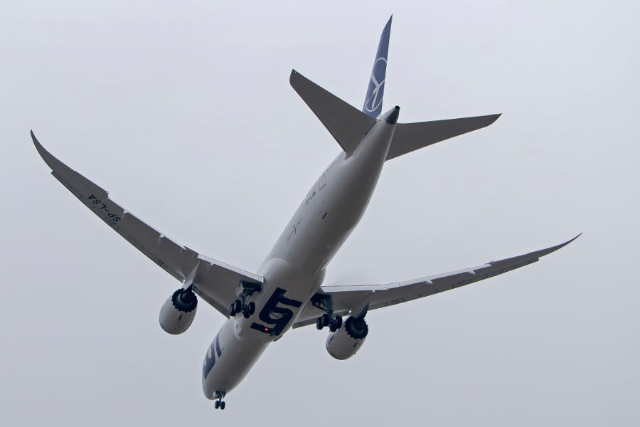 Boeing 787-9 Dreamliner - Foto: PLL LOT